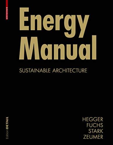 9783764387648: Energy Manual (Construction Manuals) (BIRKHÄUSER)