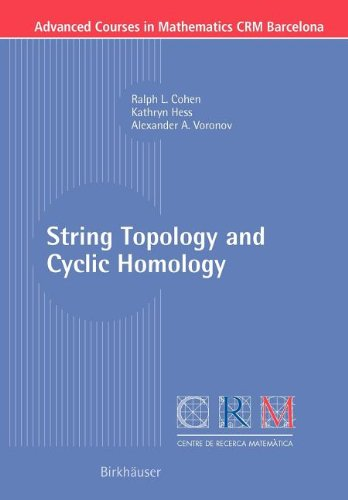 9783764390020: String Topology and Cyclic Homology