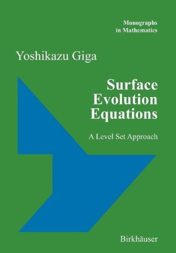 9783764390082: Surface Evolution Equations