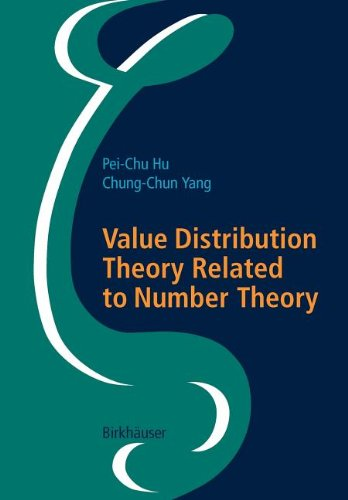 9783764391232: Value Distribution Theory Related to Number Theory