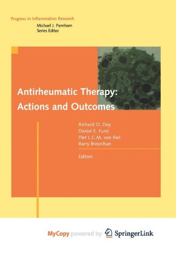 9783764392529: Antirheumatic Therapy: Actions and Outcomes