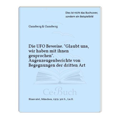 9783764555085: Die UFO - Beweise