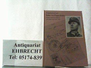 9783764814939: Erinnerungen des Soldaten und Diplomaten 1914-1955 (Soldatenschicksale des 20. Jahrhunderts als Geschichtsquelle)