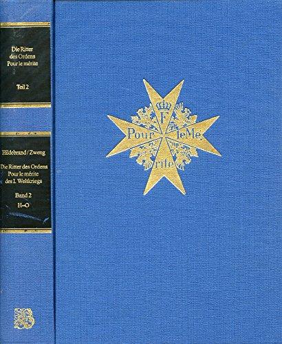 9783764824730: Title: Die Ritter des Ordens Pour le merite German Editio