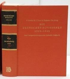 9783764825010: Die deutschen Divisionen 1939-1945. Heer, Landgestützte Kriegsmarine, Luftwaffe, Waffen-SS / Die Divisionen 17-25: BD 4