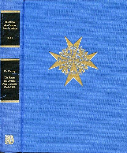 Die Ritter des Ordens Pour le Merite: Zweng Christian
