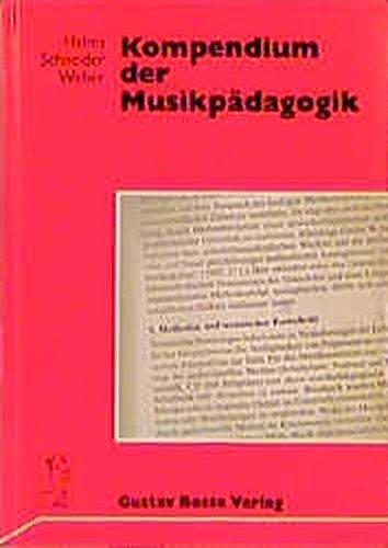 Kompendium der Musikpädagogik: Siegmund Helms