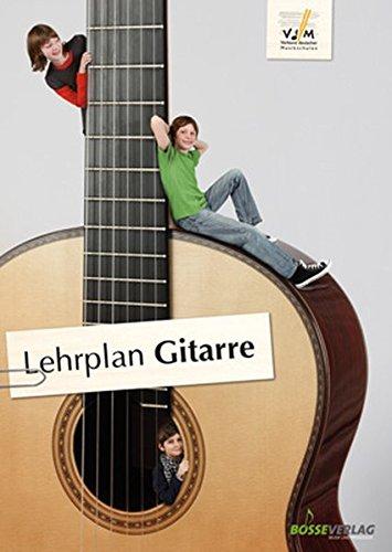 9783764937508: Lehrplan Gitarre: der offizielle Lehrplan des VdM; zuverlässige Orientierung im Instrumentalunterricht; erweiterte pädagogische Grundlagen und ... Layout, großes Format, farbiges Cover