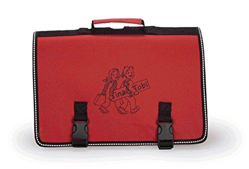 Tina und Tobi : Rote Tasche (leer)