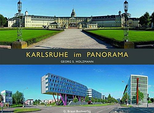 9783765085581: Karlsruhe im Panorama