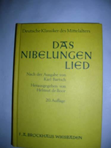 Das Nibelungenlied: Bartsch, Karl and