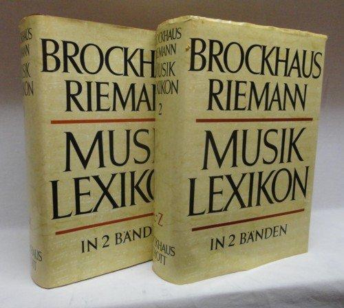 BROCKHAUS RIEMANN MUSIKLEXIKON IN ZWEI BÄNDEN: Dahlhaus, Carl et al (Hrsg.)