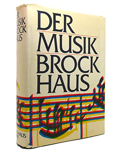 9783765303388: Der Musik-Brockhaus