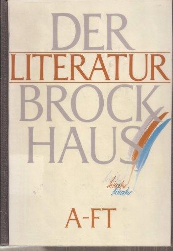 Der Literatur-Brockhaus (3 Bände) A-FT, FU-OF, OG-Z: Werner Habicht, Wolf-Dieter Lange und der...