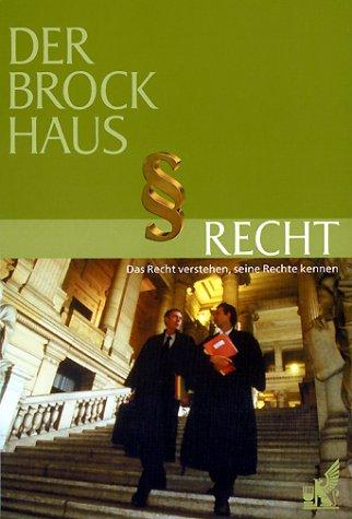 9783765305610: Der Brockhaus. Recht.