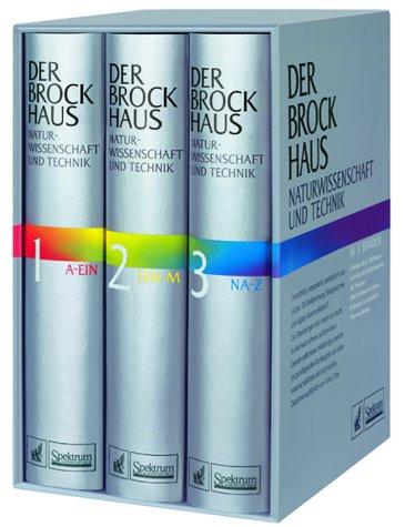 9783765310607: Der Brockhaus Naturwissenschaft und Technik, 3 Bde.