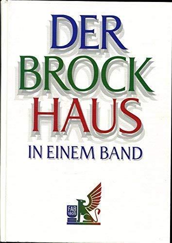 9783765316777: Der Brockhaus in Einem Band