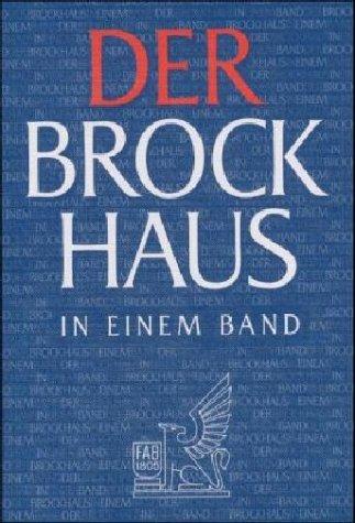 9783765316791: Der Brockhaus in Einem Band