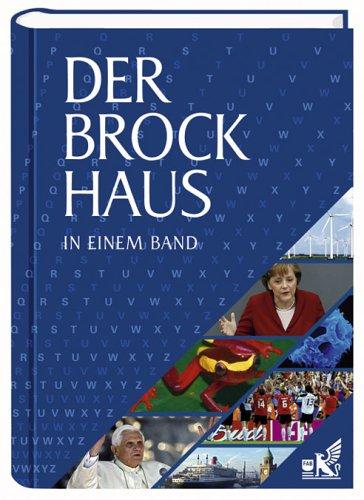 9783765316821: Der Brockhaus in einem Band
