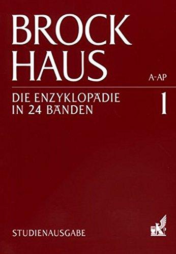 9783765324109: Brockhaus. Die Enzyklopädie in 24 Bänden. Studienausgabe.