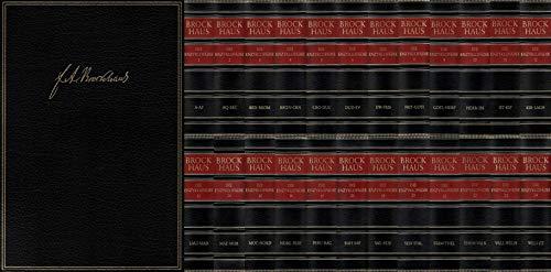 9783765331008: Brockhaus. Enzyklopädie. 24 Bände. (20. Auflage, erschienen zwischen 1996 und 1999, unter Berücksichtigung der neuen Rechtschreibreform)