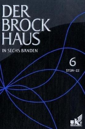 9783765332364: Der Brockhaus in sechs Bänden 06