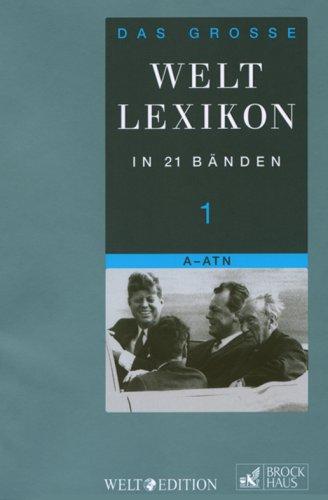 9783765333316: Das große WELT-Lexikon in 21 Bänden 01: Bd. 1