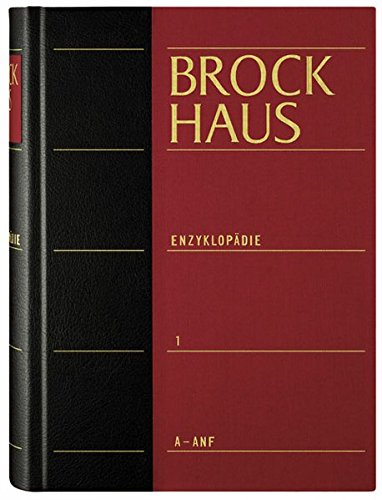 9783765341403: Brockhaus. Enzyklopädie. 30 Bände. (21. A.). Vorzugspreis bei Komplettabnahme