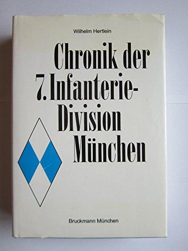 9783765419560: Chronik der 7. Infanterie-Division