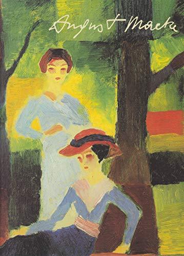 9783765421334: August Macke. Gemälde, Aquarelle, Zeichnungen (Livre en allemand)