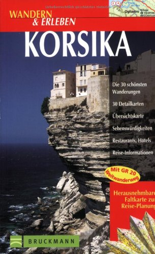 9783765436345: Wandern & Erleben, Korsika