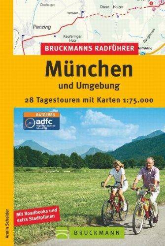 9783765449758: Bruckmanns Radführer München und Umgebung