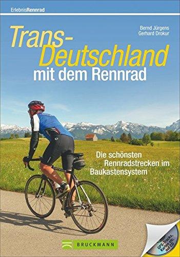 9783765459603: Trans-Deutschland mit dem Rennrad