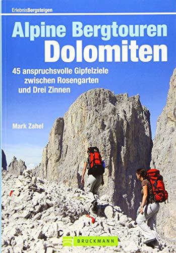 9783765461309: Alpine Bergtouren Dolomiten: 45 anspruchsvolle Gipfelziele zwischen Rosengarten und Drei Zinnen