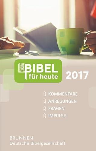 9783765506475: Bibel für heute 2017