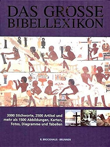 9783765554254: Das große Bibellexikon, Sonderausgabe