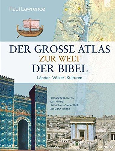 9783765554469: Der große Atlas zur Welt der Bibel