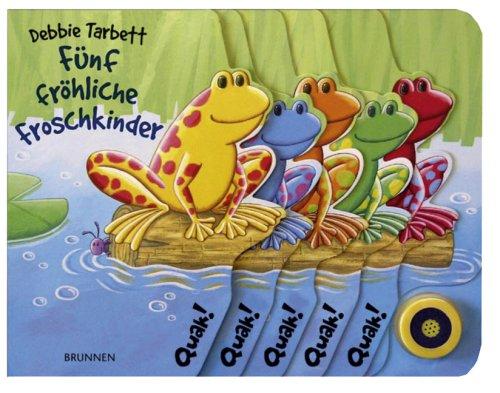 9783765555688: Fünf fröhliche Froschkinder