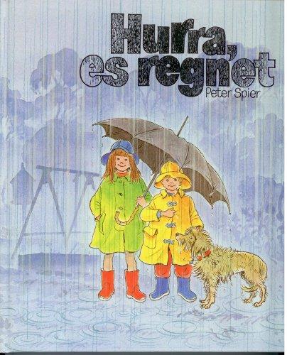 9783765556555: Hurra, es regnet!. Bilderbuch für Kinder und Erwachsene