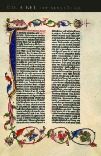 9783765561368: Hoffnung für alle: Trau- und Geschenkbibel I (Gutenberg) - AT und NT (revidierte Fassung). Mit Familienchronik