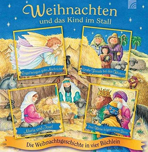 9783765569326: Weihnachten und das Kind im Stall: Die Weihnachtsgeschichte in vier Buchlein