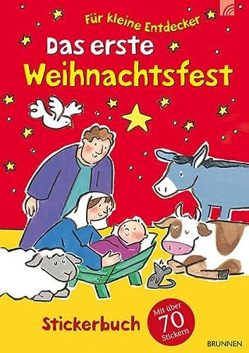 9783765569739: Das erste Weihnachtsfest: Stickerbuch