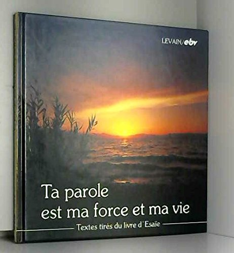 9783765578915: Ta parole est ma force et vie