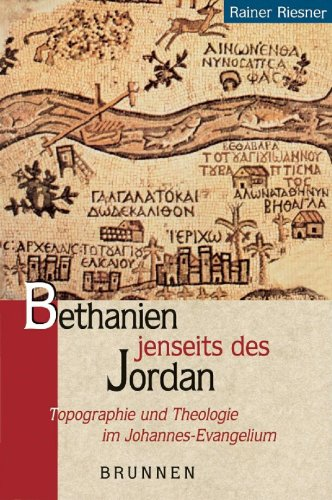 9783765598128: Bethanien jenseits des Jordan