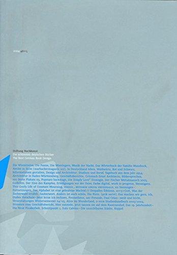 9783765727658: Die schönsten deutschen Bücher 2004