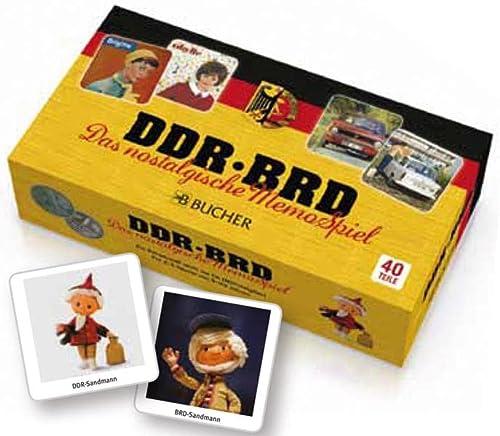 9783765819605: DDR - BRD Memory Spiel: ein nostalgisches Memospiel für Erwachsene und unterhaltsames Gedächtnisspiel zum Rätselraten mit lustigen und lehrreichen Motiven aus Ost und West