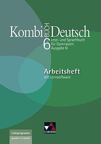 Kombi-Buch Deutsch - Ausgabe N / Kombi-Buch Deutsch N AH 6 mit Lernsoftware