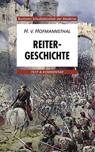 9783766139696: Reitergeschichte. Text und Kommentar: Text & Kommentar