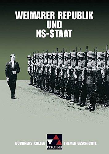 9783766146816: Weimarer Republik und NS-Staat
