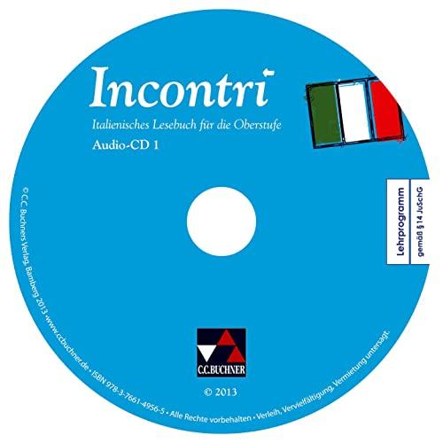 9783766149565: Incontri Audio-CD Collection: Italienisches Lesebuch für die Oberstufe